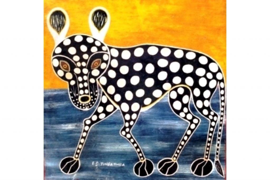 Edward Tingatinga, Leopard,
