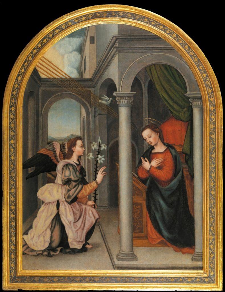 Plautilla Nelli, Annunciation, Uffizi Gallery, Florence, Italy.