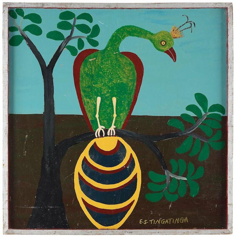 Edward Tingatinga, Untitled, 1971
