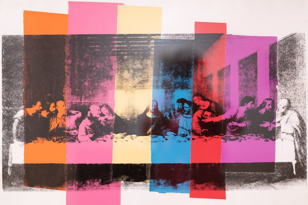 Andy Warhol, The Last Supper, 1986.