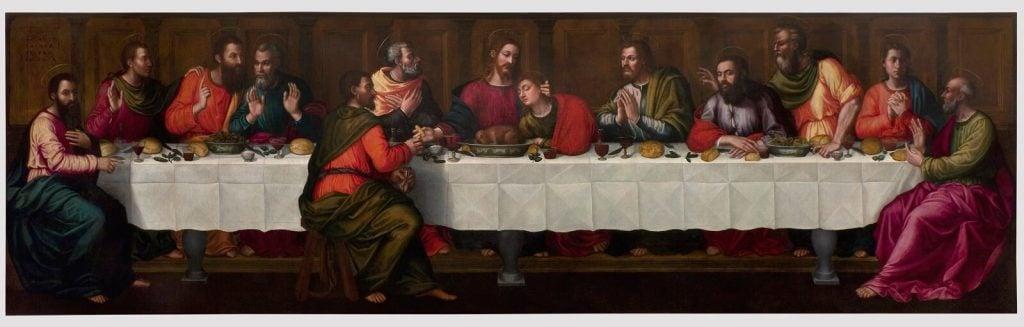 Plautilla Nelli. Plautilla Nelli, The Last Supper, oil on canvas, 200 x 700 cm, c. 1560s, Museo di Santa Maria Novella, Florence, Italy.