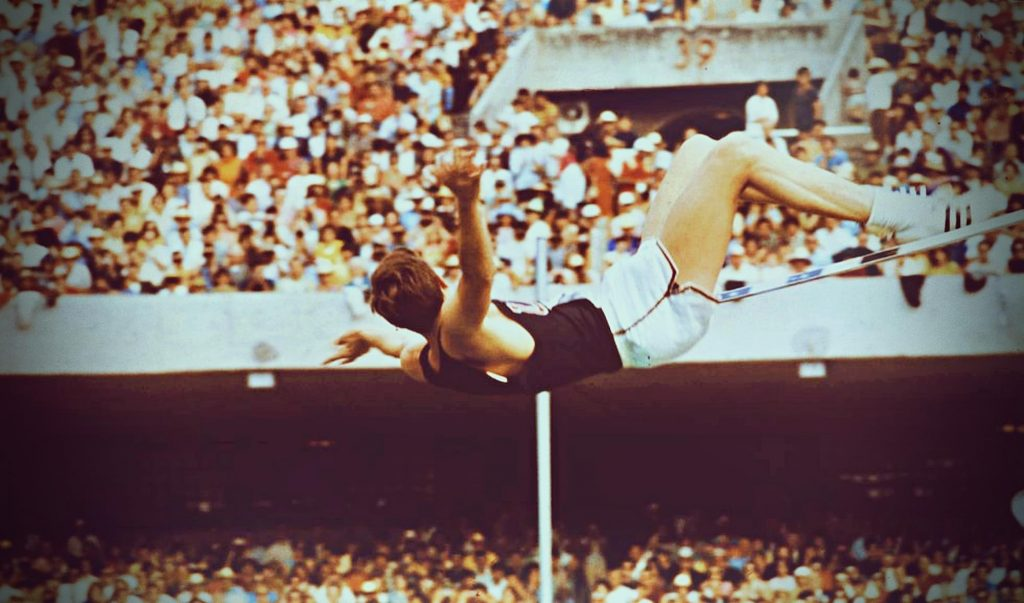 Dick Fosbury at the Olympic Games in Mexico, 1968, Olympics