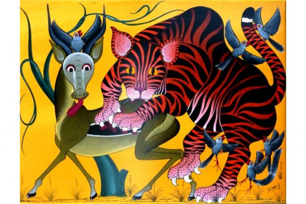 Saidi Omary, Aspects of a Tiger,