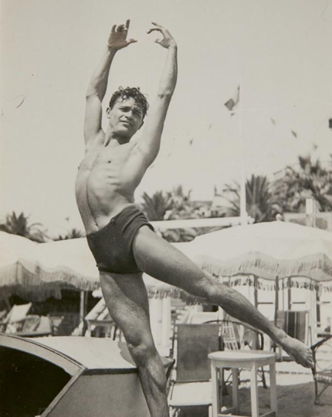 Alexander Iolas in Cannes, 1930. Sotheby's.