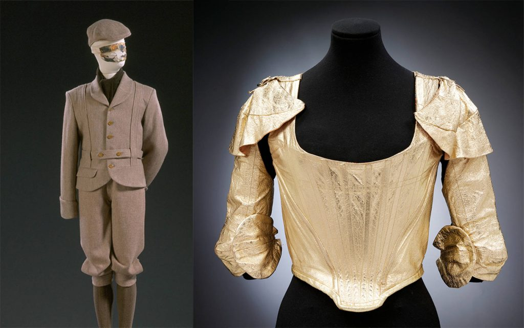 Vivienne Westwood, The Machine Suit and Corset with Sleeves, 1988. The Victoria & Albert Museum, London, UK.