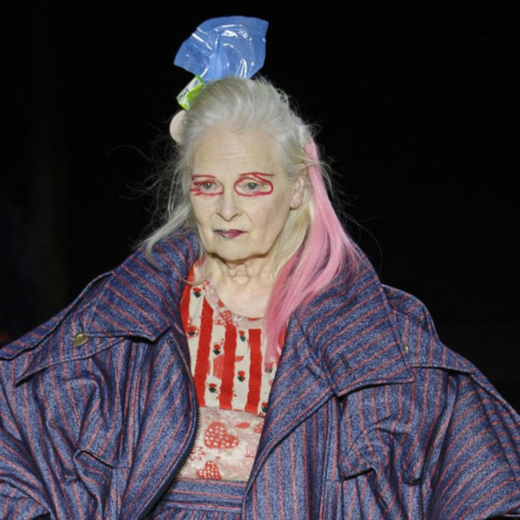 Vivienne Westwood in the Andreas Konthraler for Vivienne Westwood AW '17 show.