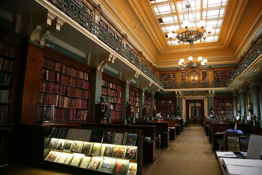 art history library - The Art Library, The Victoria and Albert Museum, London, England