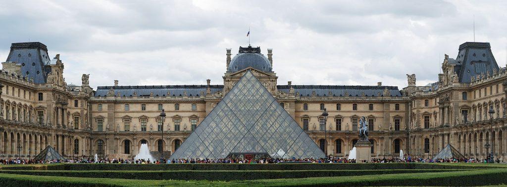 destination art history paris -The Louvre, Paris, France