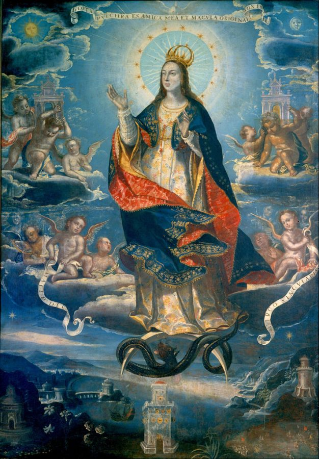 Baltasar de Echave Ibía, The Inmaculate Conception, 1620, National Museum of Art, Mexico City, Mexico.