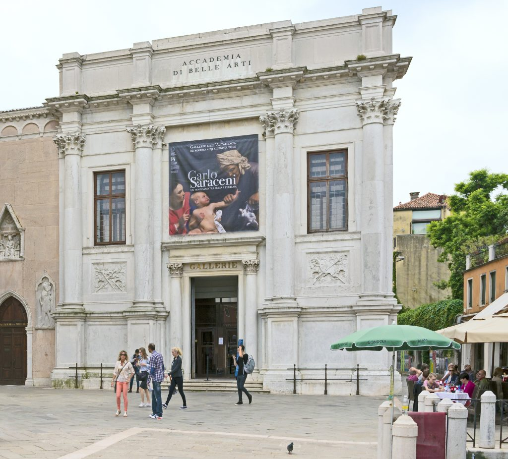 Top 5 Museums in Venice: Gallerie dell' Accademia in Venice, Italy.