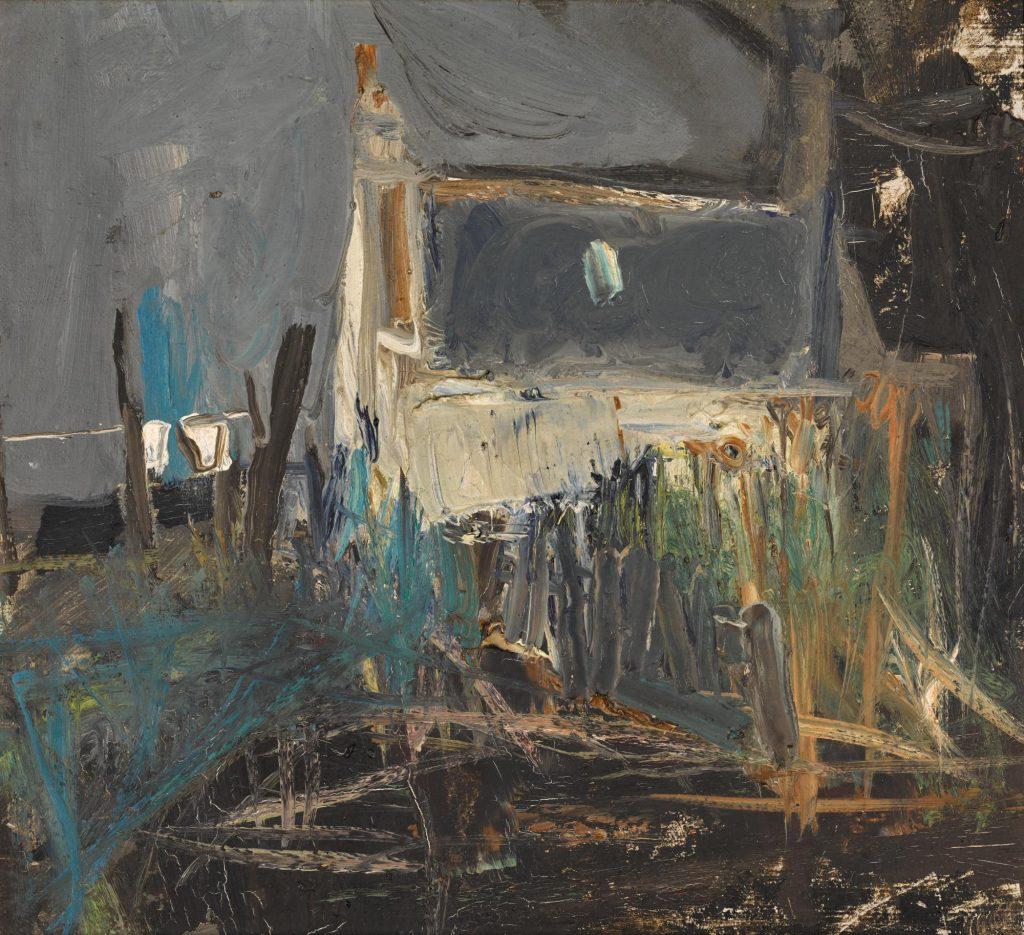 Joan Eardley, Cottages Catterline, 1961