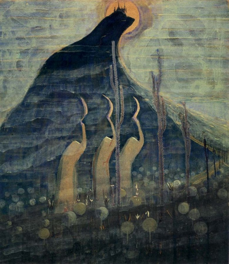 M. K. Čiurlionis, Fairy Tale I, 1907, M. K. Čiurlionis National Art Museum, Kaunas, Lithuania.