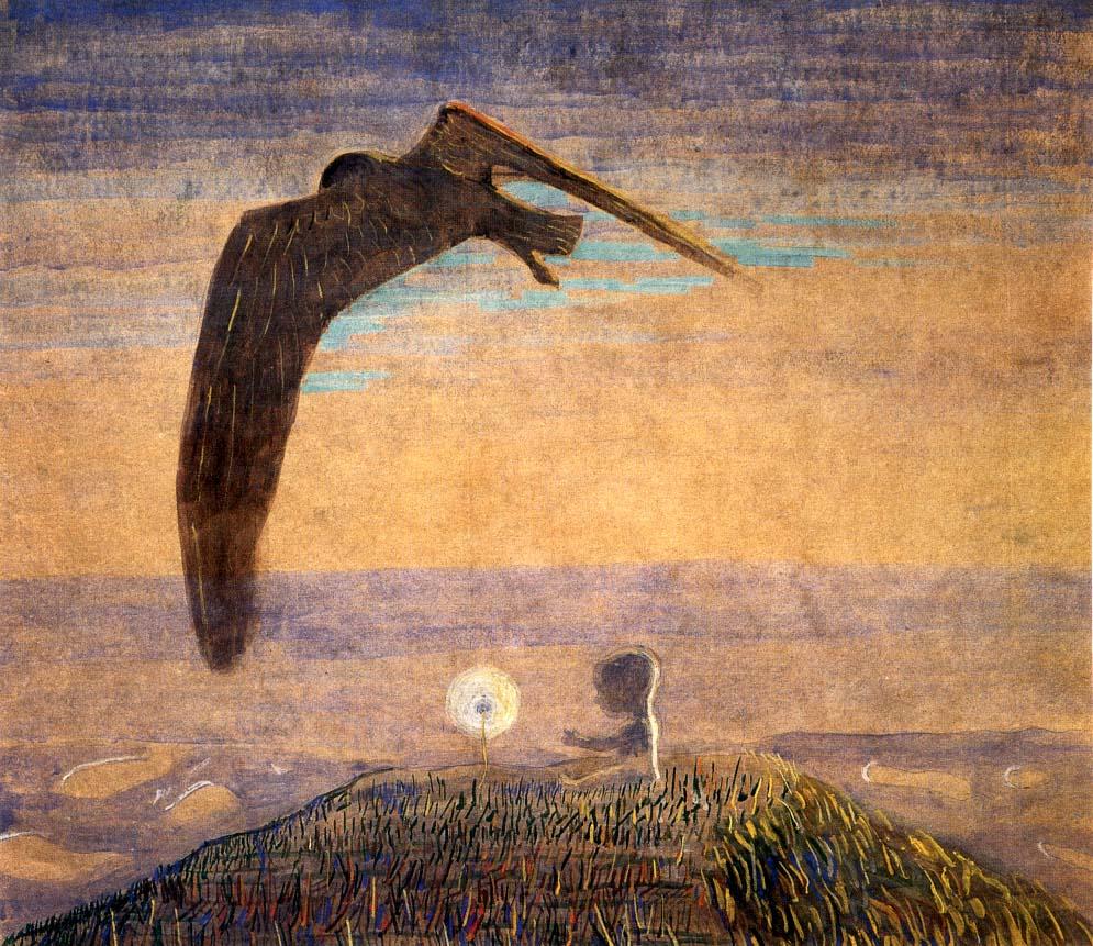 M. K. Čiurlionis, Fairy Tale II, 1907, M. K. Čiurlionis National Art Museum, Kaunas, Lithuania.