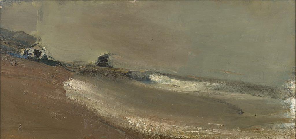 Joan Eardley, Grey Beach and Sky, 1962