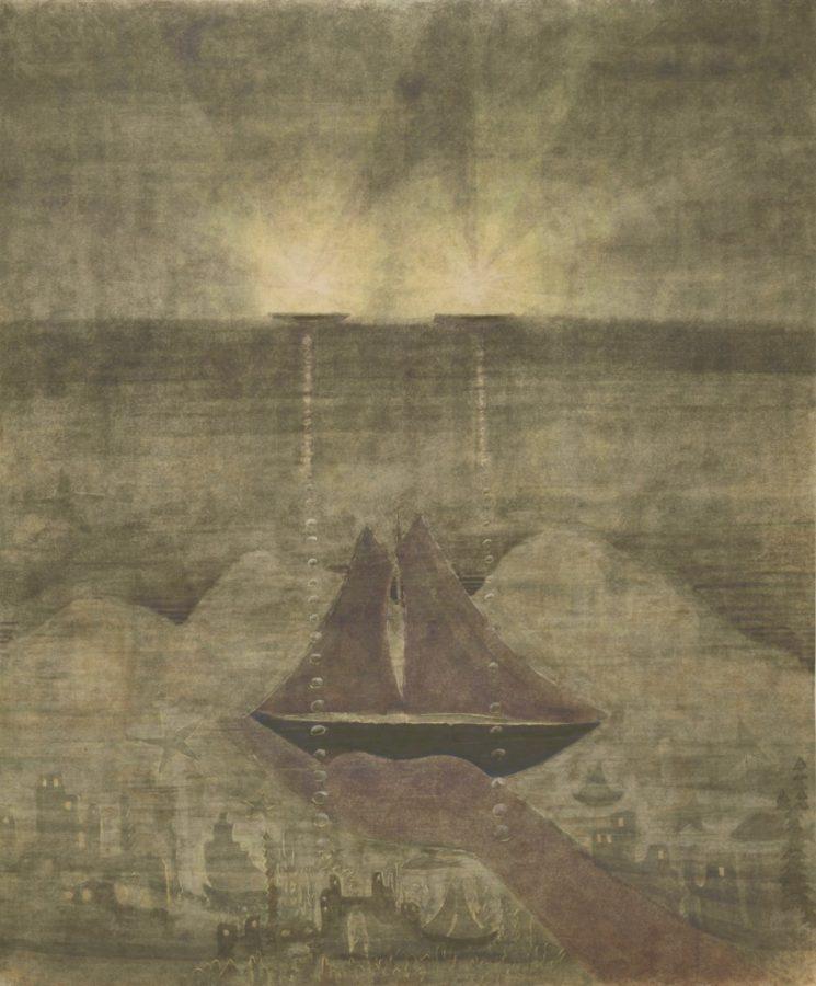 Mikalojus Konstantinas Čiurlionis, Sonata of the Sea, 1908, M. K. Čiurlionis National Art Museum, Kaunas, Lithuania.