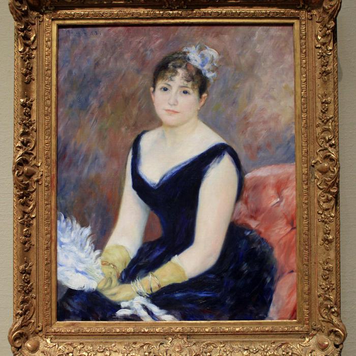 Mexican color. Pierre Auguste Renoir, Madame Léon Clapisson, 1883, The Art Institute of Chicago, Chicago, Il, USA.