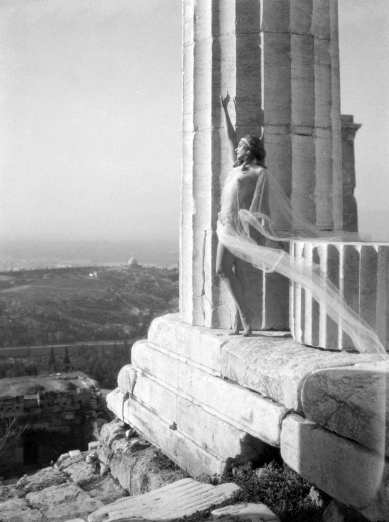 Nelly, Mona Paiva in the Parthenon, 1929, Benaki Museum, Athens, Greece.