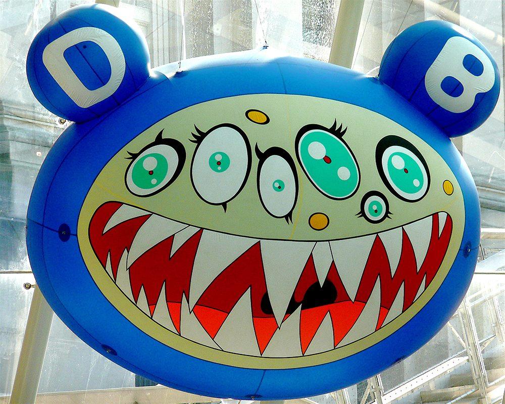 Takashi Murakami, Mr. DOB, 2008, Brooklyn Museum, New York, NY, USA.