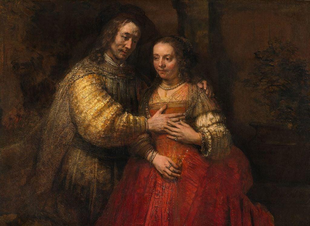 Mexican color. Rembrandt van Rijn, The Jewish Bride, ca. 1665-9, Rijksmuseum, Amsterdam, The Netherlands.