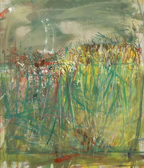 Joan Eardley, Ripening Barley, 1960