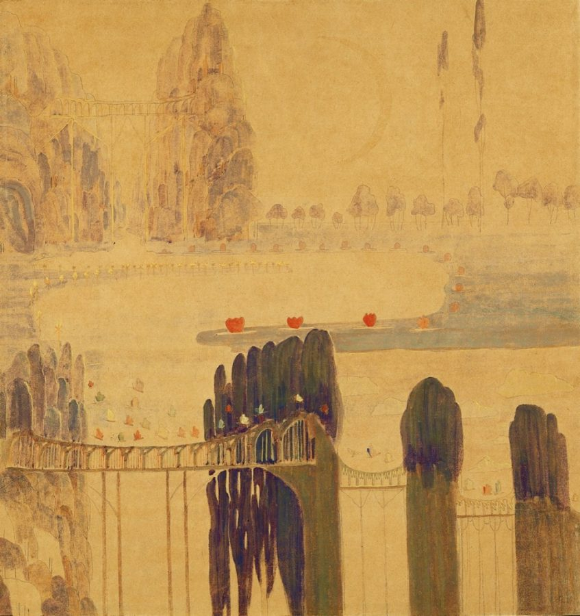 Mikalojus Konstantinas Čiurlionis, Sonata of the Sun, 1907, M. K. Čiurlionis National Art Museum, Kaunas, Lithuania.