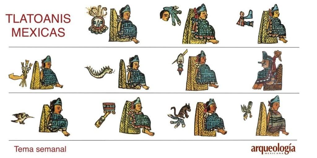 Tlatoanis Mexicas, Arqueología Mexicana.