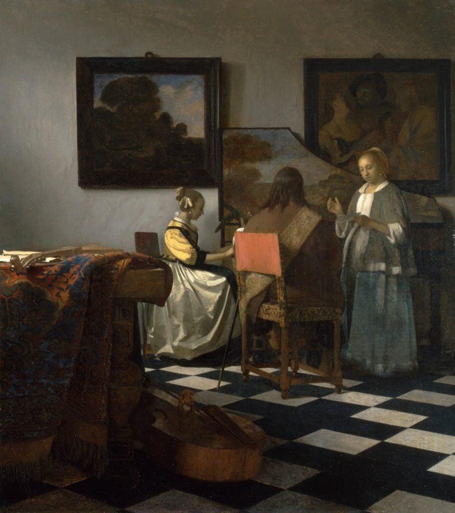 Johannes Vermeer, The Concert, 1663-1666, Isabella Stewart Gardner Museum, Boston, USA