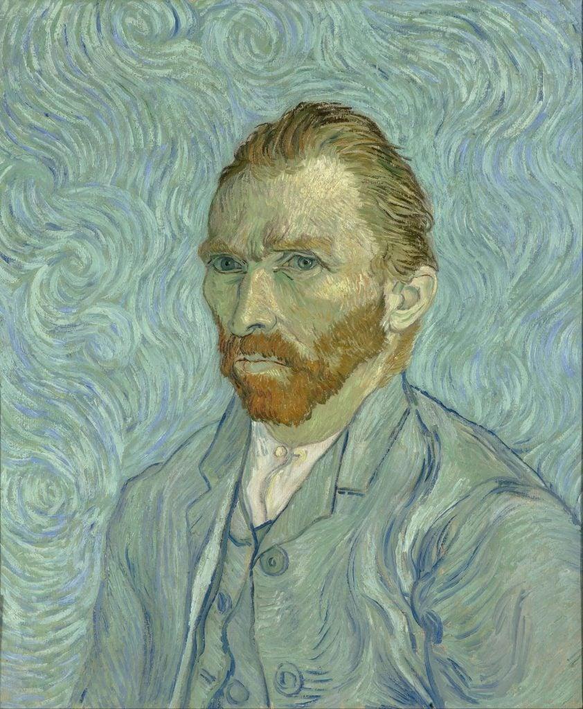 Vincent van Gogh, Self Portrait, 1889, Musée d'Orsay, Paris, France.