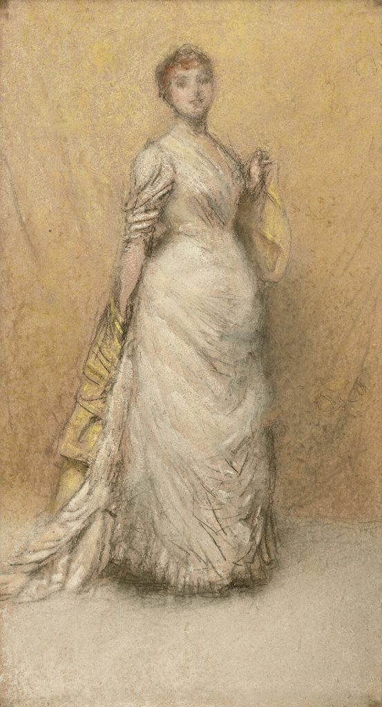 James McNeill Whistler, The Little Note in Yellow and Gold, 1886, Isabella Stewart Gardner Museum, Boston, USA