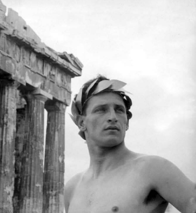 Nelly, Study of Male Nude in the Acropolis, 1927, Benaki Museum, Athens, Greece.