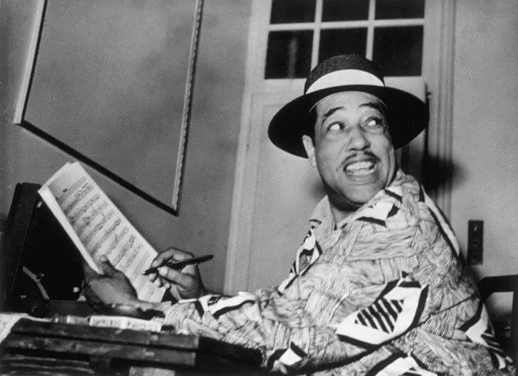 Synesthesia, Famous musician Duke Ellington, circa 1948.