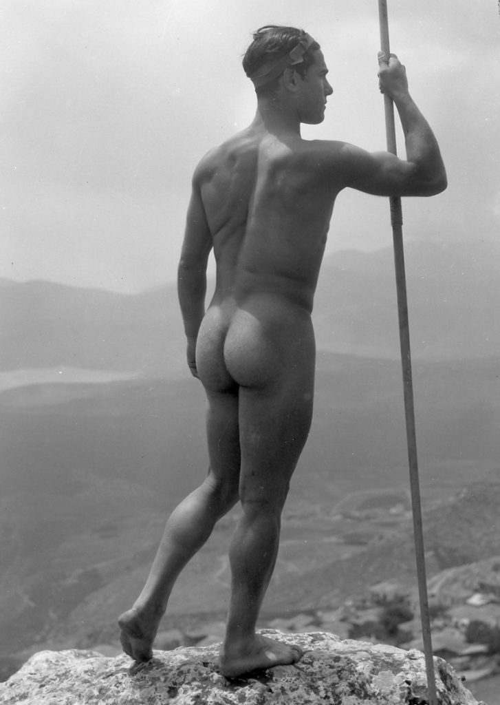 Nelly, A Greek Athlete in the Pose of the Doryphoros, 1930s, Benaki Museum, Athens, Greece.