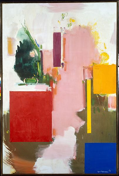 Hans Hoffman, Summer, 1965, The Metropolitan Museum of Art, New York, NY, USA. color field painting