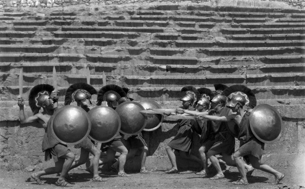Nelly, Hoplites, Fétes Delphiques, 1930, Benaki Museum, Athens, Greece.