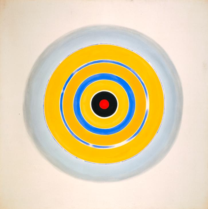 Kenneth Noland, Drought, 1962, Tate, London, UK.color field painting