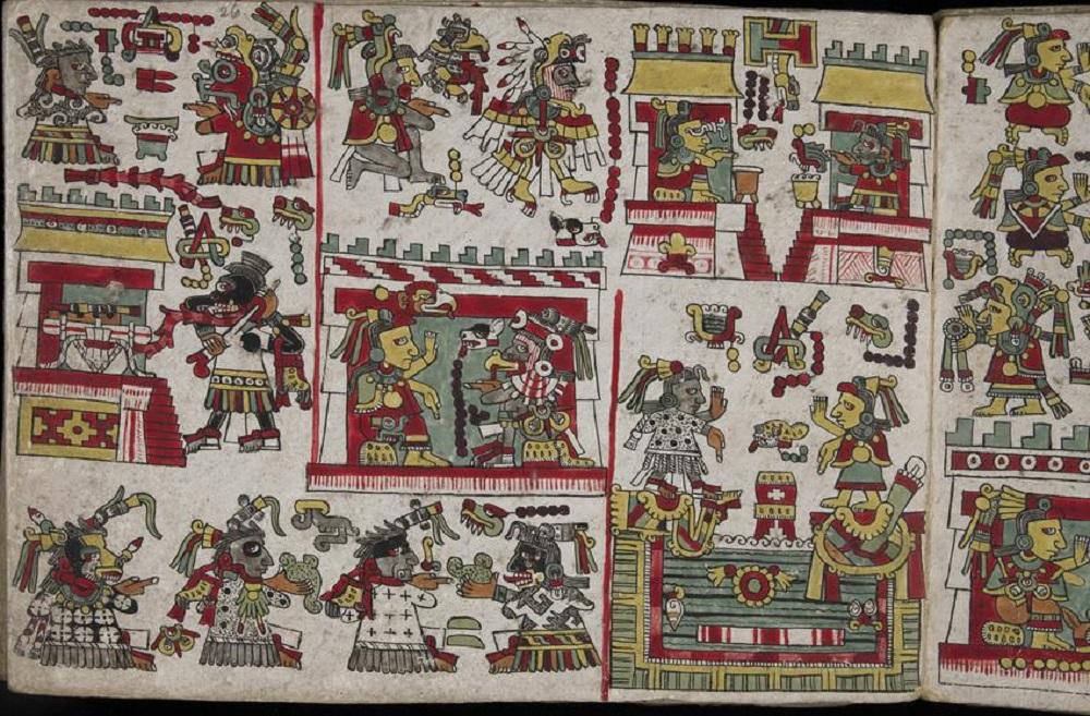 Codex Zouche-Nuttall, 1200-1521, British Museum, London, UK.