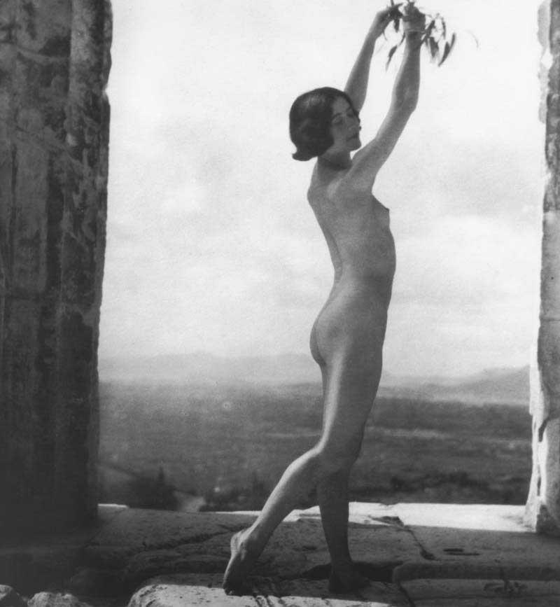 Nelly, Mona Paiva in the Parthenon, 1927, Benaki Museum, Athens, Greece.