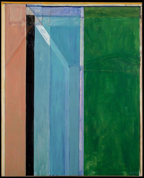 Color Field, Richard Diebenkorn, Ocean Park 30, 1970 color field painting