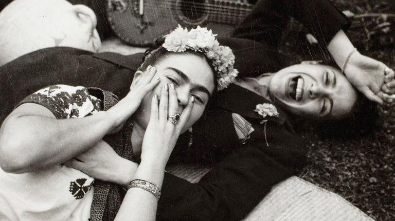 Tina Modotti, Frida Kahlo, and Chavela Vargas, date unknown, Reinhard Schultz's Bilderwelt Gallery, Berlin, Germany. women photographers