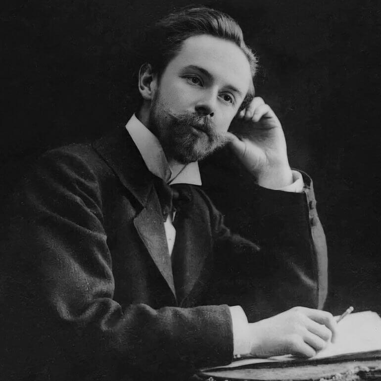 Synesthete, Aleksandr Sciarabin, beginning of 20th century.