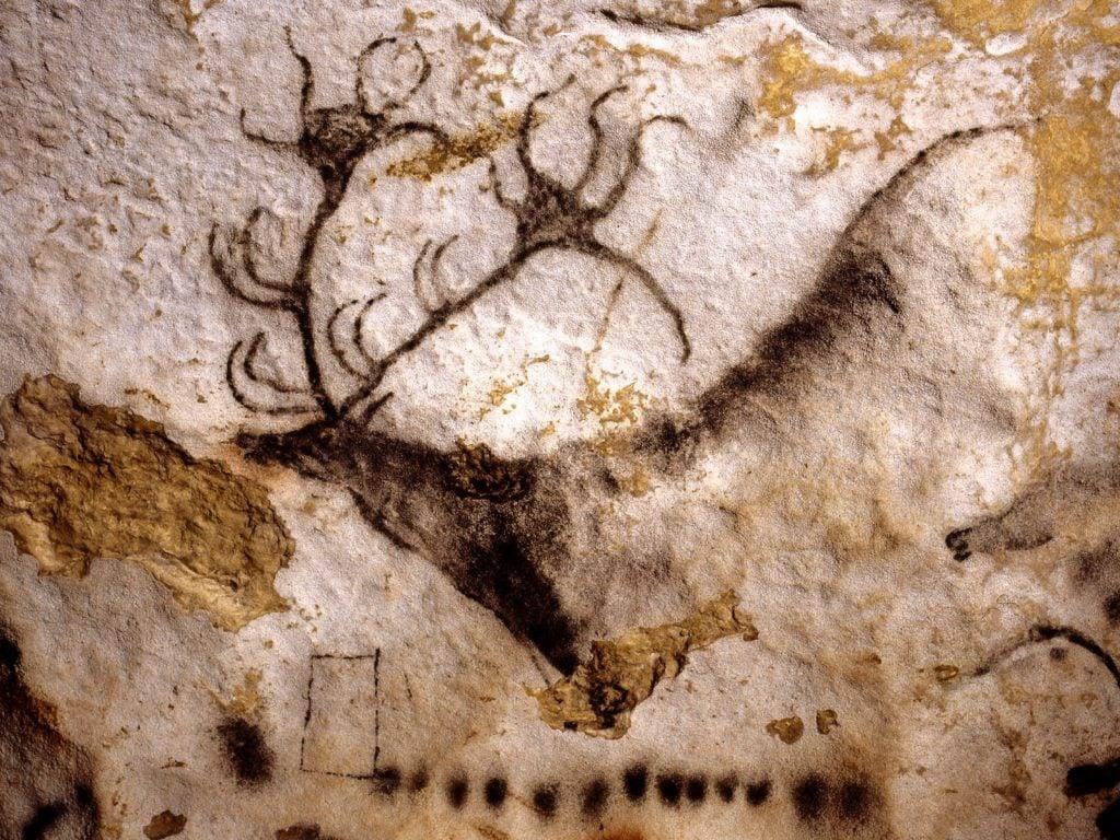 The deer, Lascaux Cave, Montignac, France.