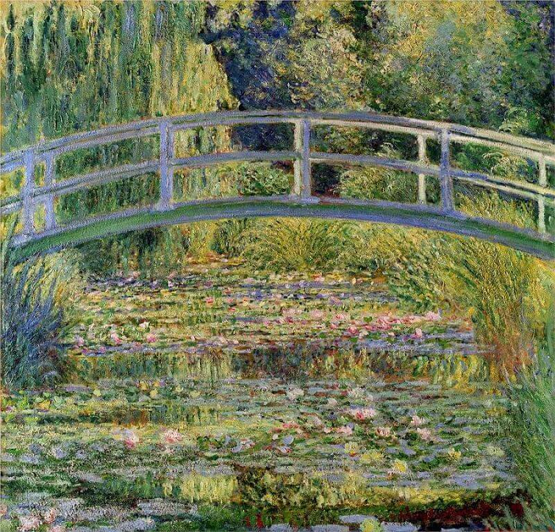 Claude Monet, The Water-Lily Pond, 1899, National Gallery, London, UK.