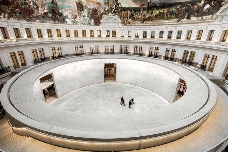 Bourse Museum Paris. Bourse de Commerce - Pinault Collection, Paris, France.