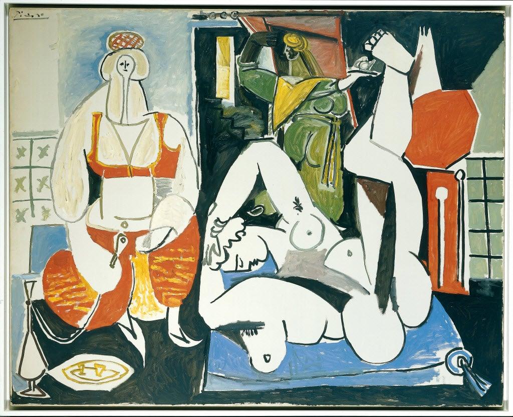 Pablo Picasso, Les Femmes d'Alger (Version H), 1955, David Nahmad Collection, Switzerland.