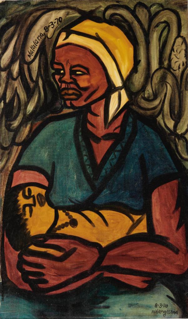 Malangatana Valente Ngwenya, Matalana, 1970, private collection