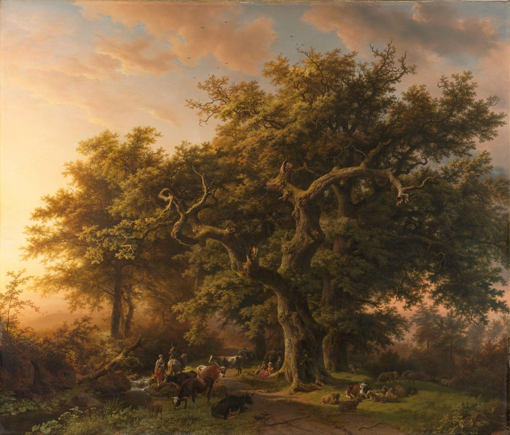 Barend Cornelis Koekkoek, Forest Scenes (with