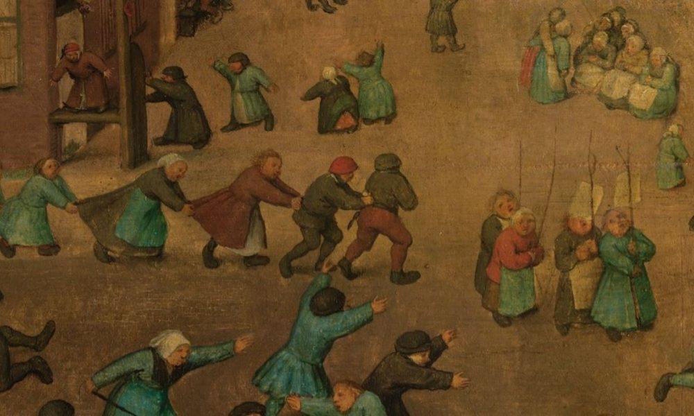 Pieter Bruegel the Elder, Children's Games, 1560, Kunsthistorisches Museum, Vienna, Austria