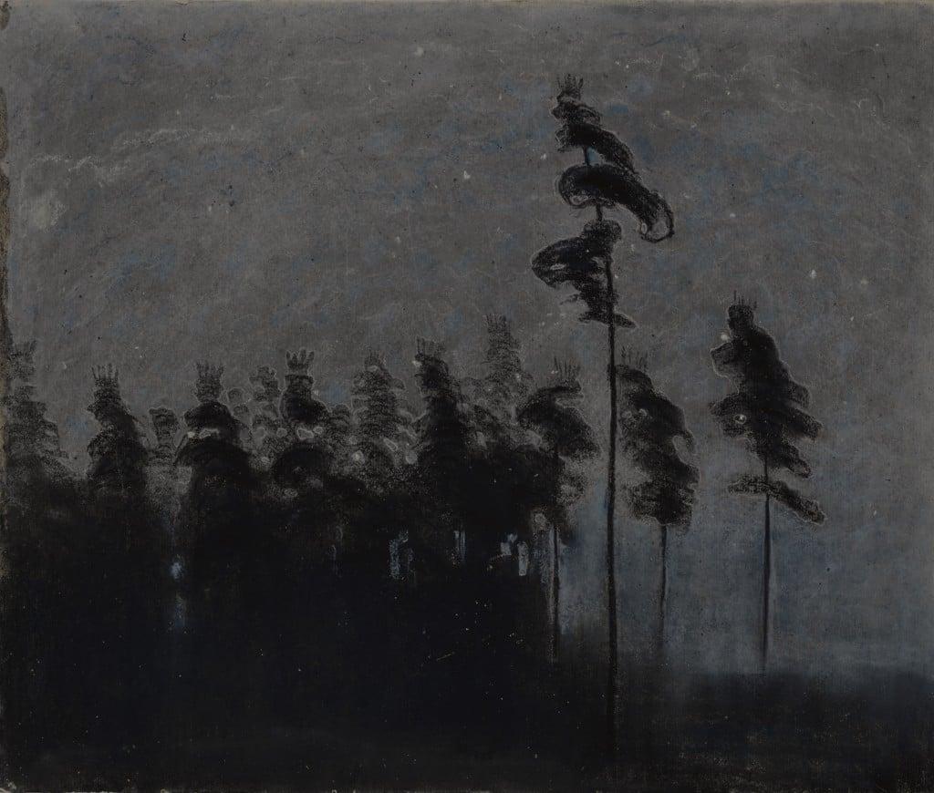 Mikalojus Konstantinas Čiurlionis, Forest, 1907, M. K. Čiurlionis National Art Museum, Kaunas, Lithuania.
