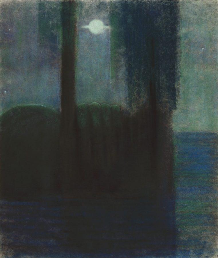Mikalojus Konstantinas Čiurlionis, Night, 1904, M. K. Čiurlionis National Art Museum, Kaunas, Lithuania.