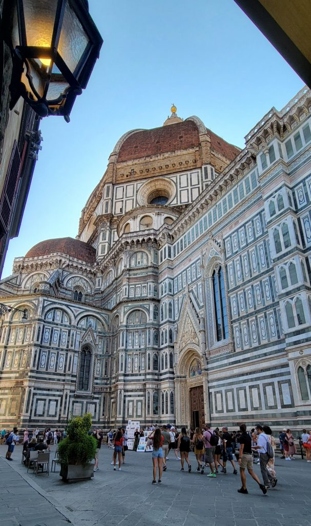 View on the Florence Cathedral in 2021. Photo by the author.